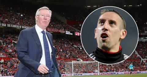 """Tiết lộ: Man Utd """"vồ hụt"""" Franck Ribery vì… Sir Alex"""
