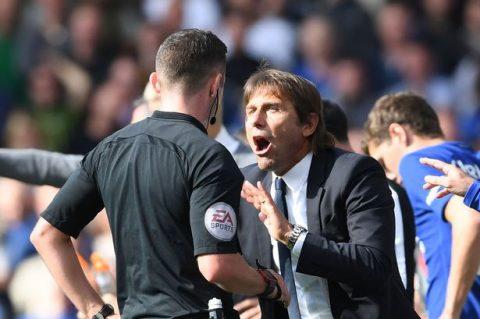 """HLV Conte: """" Thẻ đỏ dành cho David Luiz là quá oan ức"""""""