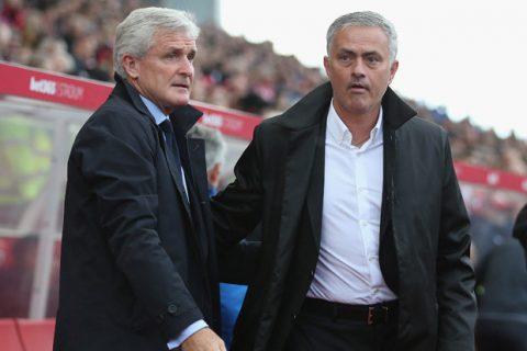 HLV Mark Hughes tố truyền thông Man Utd cố tình làm quá về Mourinho