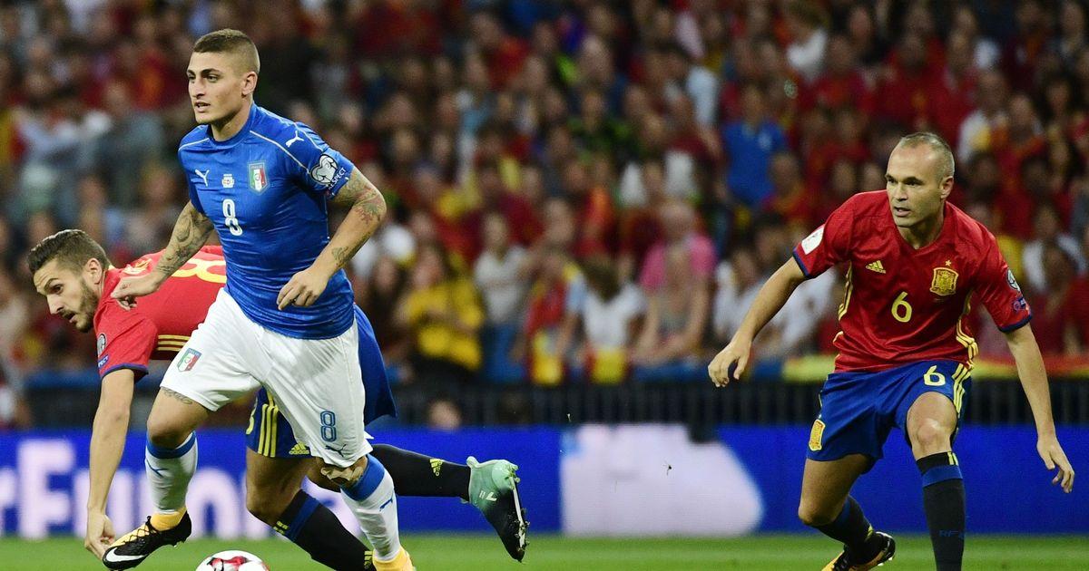 Chấm điểm Italia sau trận thua Tây Ban Nha: 'Điểm đen' Verratti
