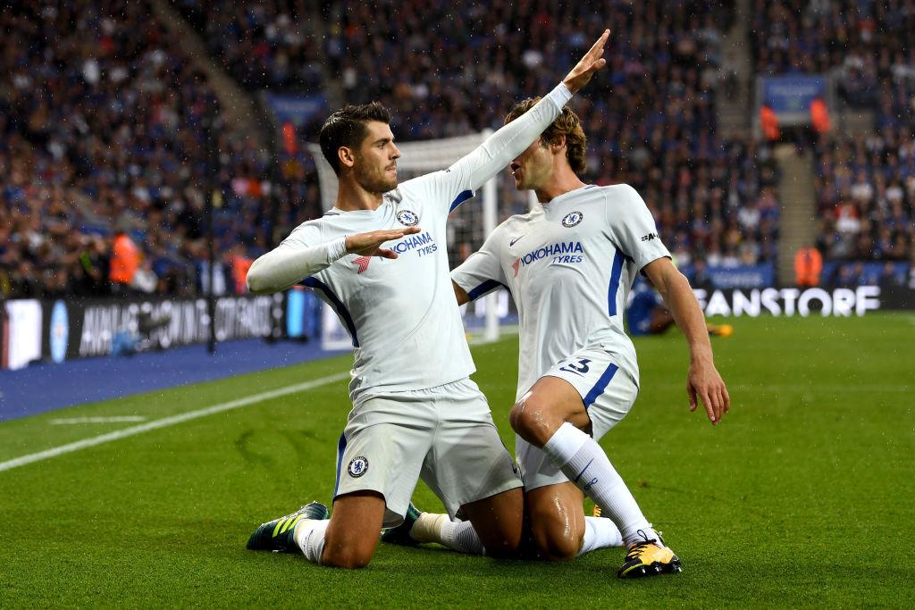 """Morata tiếp tục nổ súng, Chelsea hạ gục """"bầy sói"""" Leicester ngay tại sào huyệt King Power"""
