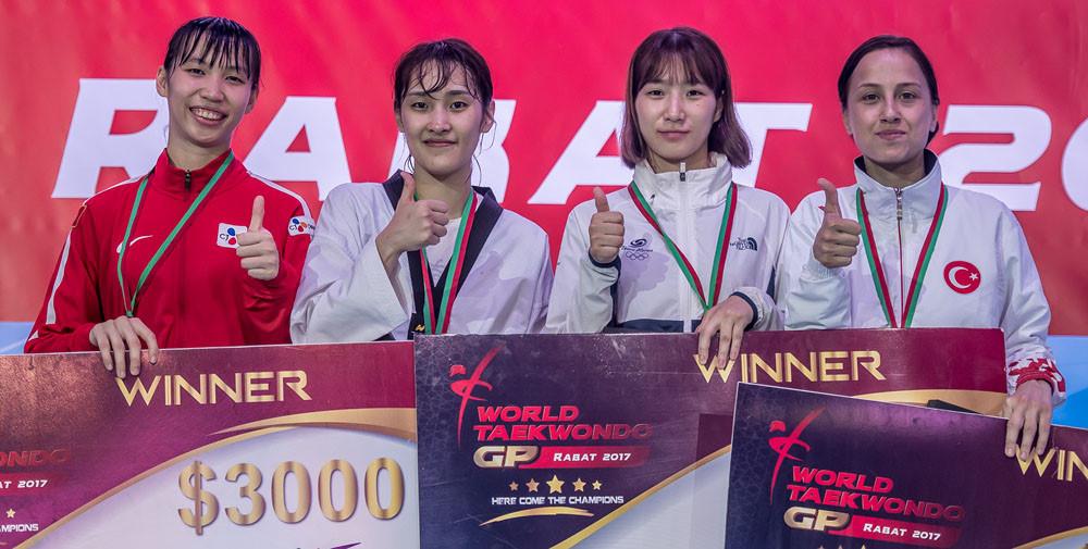Taekwondo Việt Nam tiếp tục có huy chương thế giới