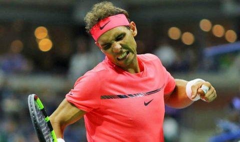 US Open 2017: Nadal thắng dễ 'học trò' trong 96 phút, hẹn Federer ở bán kết