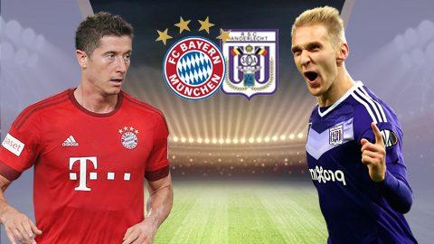 Bayern Munich vs Anderlecht, 01h45 ngày 13/9: Liều thuốc giảm đau cho Hùm Xám