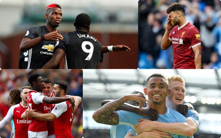 BXH Premier League sau 4 vòng đấu đầu tiên: Thành Manchester thống trị