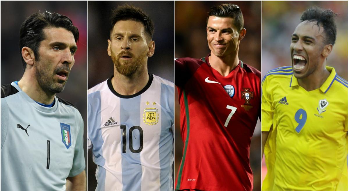 """Đội hình """"siêu khủng"""" những ngôi sao có nguy cơ vắng mặt tại World Cup 2018"""