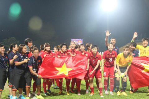 NHM ngã mũ kính phục trước việc tuyển thủ VN có thai vẫn dự SEA Games