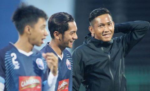 Ngôi sao tuyển Campuchia tự tin khẳng định đội nhà có 70% cơ hội hạ đẹp Việt Nam
