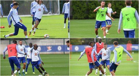 Sau loạt trận thi đấu quốc tế, dàn sao Chelsea trở lại luyện tập cực 'sung'