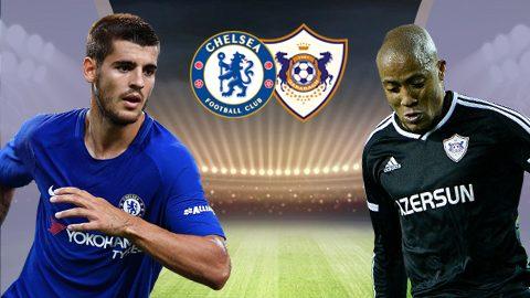 Chelsea vs Qarabag, 01h45 ngày 13/9: Vùi dập khách lạ