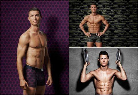 Mê mệt với những hình ảnh quảng cáo mới nhất của Cristiano Ronaldo