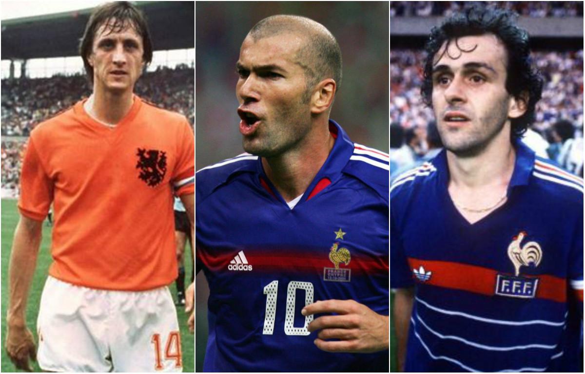 10 tiền vệ xuất sắc nhất trong lịch sử bóng đá: Zidane số 2, ai là số 1?