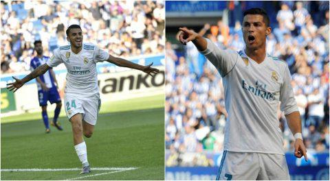 """Ronaldo tiếp tục mờ nhạt, """"tiểu Modric"""" một tay giải cứu Real với cú đúp để đời"""
