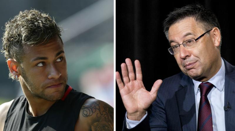 """Giữa bão chỉ trích, Chủ tịch Bartomeu lại ra tuyên bố sốc: """"Barca mạnh hơn khi không có Neymar"""""""