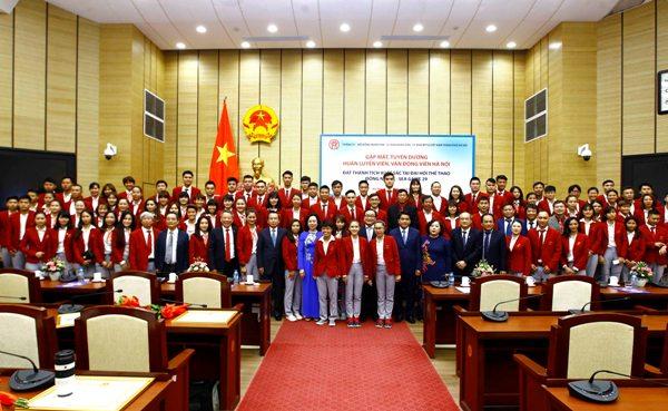 Hà Nội tuyên dương các vận động viên đạt thành tích xuất sắc tại SEA Games 29