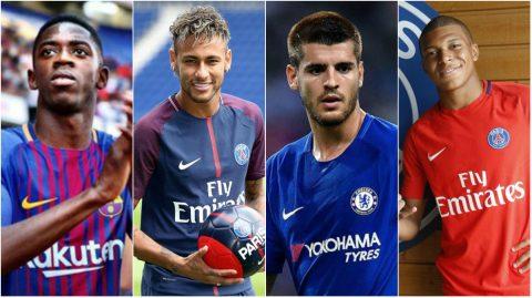 Neymar, Dembele và những cái tên thị phi nhất chợ Hè 2017