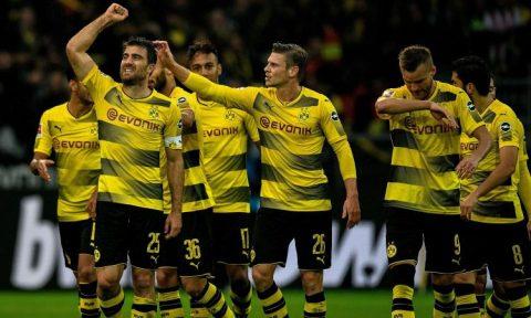 Đè bẹp Cologne trên sân nhà, Dortmund đòi lại ngôi đầu Bundesliga