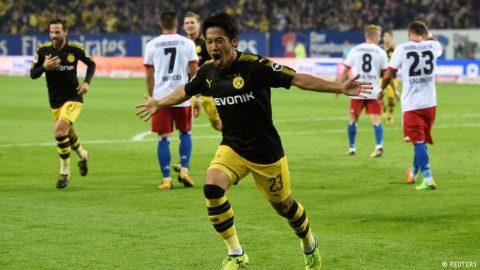 Đại thắng Hamburg, Dortmund đòi lại ngôi đầu Bundesliga từ tay Bayern