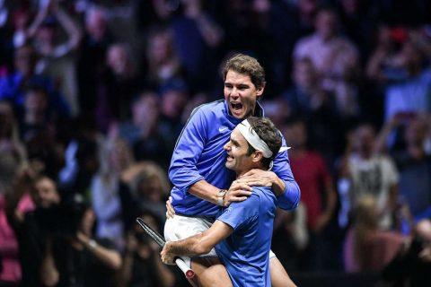 Federer và Nadal thu bộn tiền sau khi tham dự Laver Cup 2017