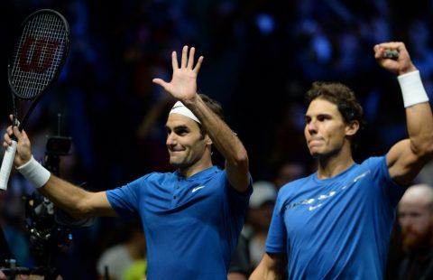 Bộ đôi huyền thoại Federer – Nadal thắng nhọc trong lần đầu đánh cặp tại Laver Cup 2017