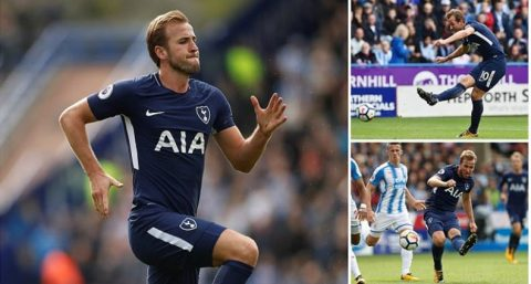 Kết quả Huddersfield Town vs Tottenham: Siêu tiền đạo tiếp tục thăng hoa, Spurs đánh bật Chelsea ra khỏi Top 3