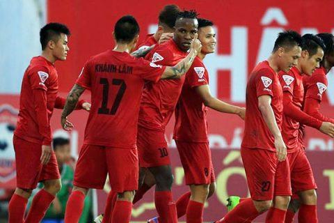 Kết quả và BXH V-League vòng 18: Hải Phòng đại thắng