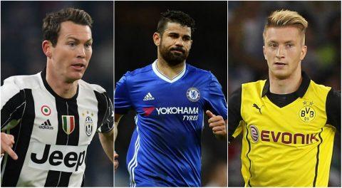Reus và những 'vị khách' đáng tiếc tại vòng bảng Champions League 2017/18