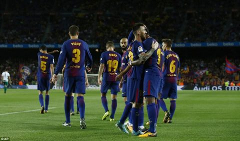 VIDEO: Barcelona 6-1 Eibar (Vòng 5 La Liga 2017/18)
