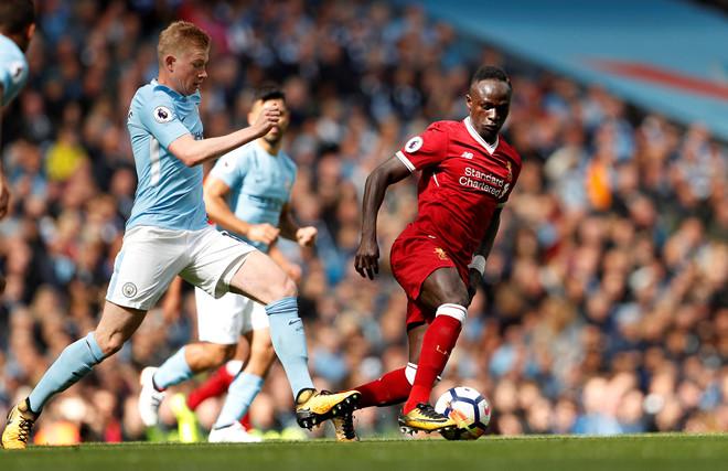 Sadio Mane nhận thẻ đỏ, Man City hủy diệt Liverpool với tỉ số không tưởng