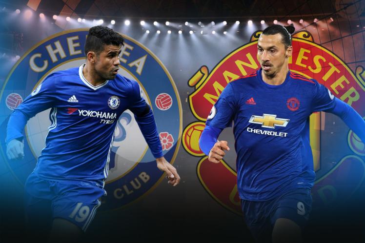 """Ngũ đại gia"" Premier League chốt danh sách dự Champions League: Có Ibra, loại Costa"