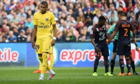 Thiếu vắng Neymar, PSG nhận cái kết đắng trên sân Montpellier