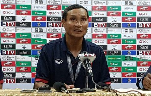 Thắng nhọc Campuchia, HLV Mai Đức Chung phát biểu bất ngờ về tương lai