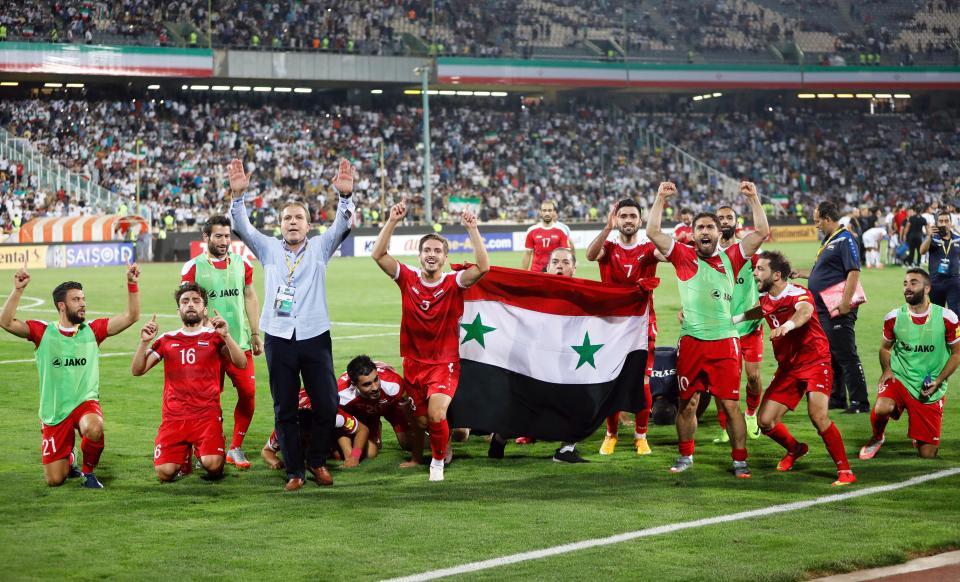 Tả tơi vì chiến tranh, Syria vẫn lập kỳ tích tại vòng loại World Cup 2018