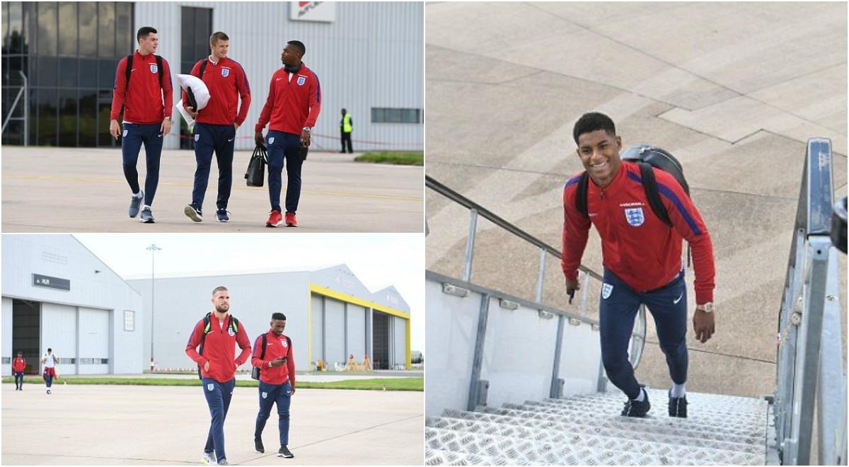 Marcus Rashford rạng rỡ cùng tuyển Anh đặt chân đến Malta