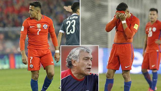 Thua tan nát trước Paraguay, Alexis Sanchez còn khiến NHM Chile phát hoảng