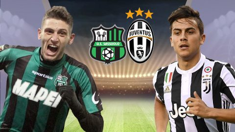 """Sassuolo vs Juventus, 17h30 ngày 17/9: """"Ngựa vằn"""" dạo chơi"""