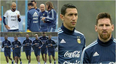 Messi và đồng đội căng thẳng trước giờ phán quyết số phận của Argentina