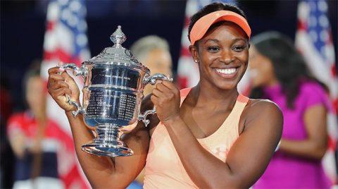 """Xuất sắc đánh bại Madison Keys, """"Tiểu Serena"""" Sloane Stephens lên ngôi vô địch US Open 2017"""