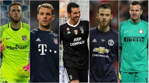 TOP 5 thủ thành xuất sắc nhất thế giới thời điểm hiện tại: Neuer không còn là số 1