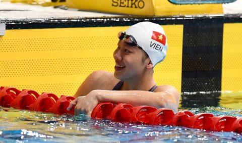 Ánh Viên giành huy chương bạc 200m tự do tại AIMAG 2017