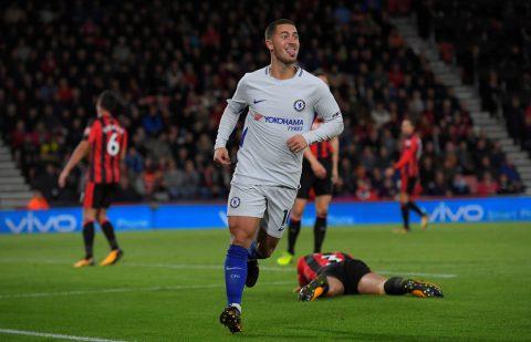 Morata bỏ lỡ vô số cơ hội, Chelsea nhọc nhằn giành 3 điểm trước Bournemouth nhờ người hùng Hazard
