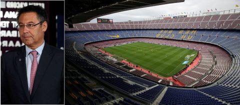 Chủ tịch Barca đòi kiện BTC La Liga vì bị ép chơi trên sân không có khán giả