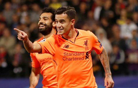 """Hàng công nhảy múa """"điên cuồng"""", Liverpool đè bẹp nhược tiểu Maribor với tỉ số siêu kỷ lục"""