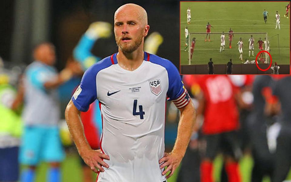 """Kháng cáo """"bàn thắng ma"""", ĐT Mỹ sẽ dự World Cup 2018?"""