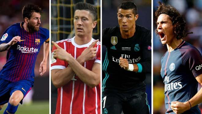 Đọ tam tấu của 10 đại gia châu Âu: Ronaldo, Messi cần phải e dè trước bộ ba S-M-L, M-C-N