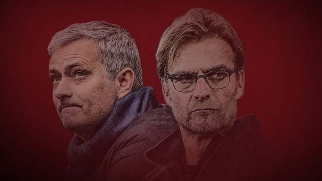 GÓC THỐNG KÊ: Klopp áp đảo hoàn toàn Mourinho trước trận derby nước Anh