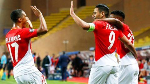 """""""Mãnh hổ"""" Falcao tiếp tục nổ súng, Monaco áp sát ngôi đầu của PSG"""