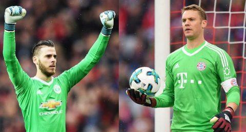 TOP 10 thủ môn hay nhất châu Âu từ đầu mùa: Vắng bóng Neuer, De Gea là số 1