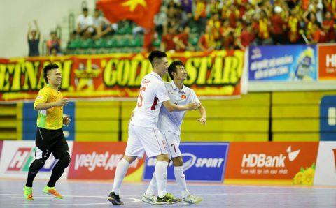 ĐT futsal Việt Nam tiếp tục bay cao trên đôi cánh của nhạc trường Trọng Luân, tràn chề cơ hội lọt vào Chung kết