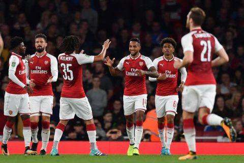"""Arsenal vs Norwich City, 01h45 ngày 25/10: Săn """"chim hoàng yến"""" bằng pháo hạng hai"""
